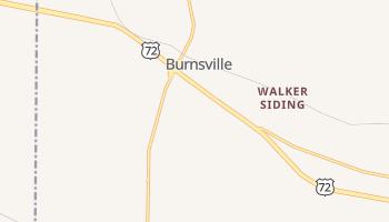 Burnsville, Mississippi map