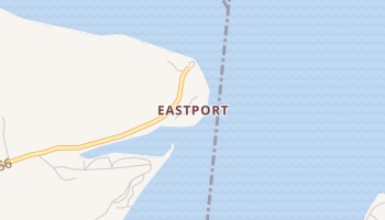 Eastport, Mississippi map