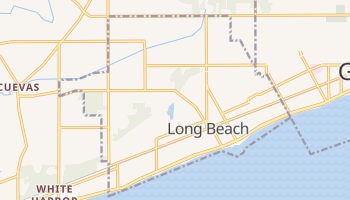Long Beach, Mississippi map