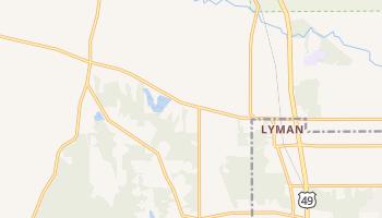 Lyman, Mississippi map