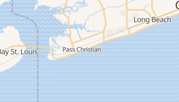 Pass Christian, Mississippi map