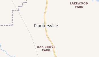 Plantersville, Mississippi map