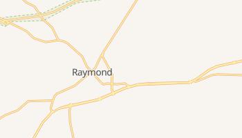 Raymond, Mississippi map