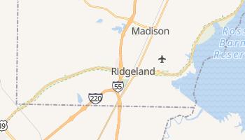 Ridgeland, Mississippi map