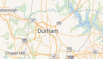Durham, North Carolina map