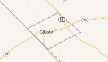 Gibson, North Carolina map