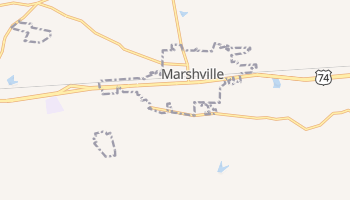 Marshville, North Carolina map