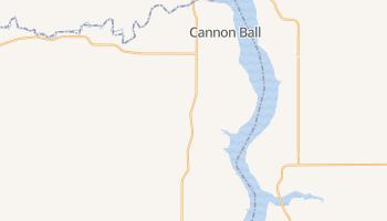 Cannon Ball, North Dakota map