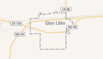 Glen Ullin, North Dakota map