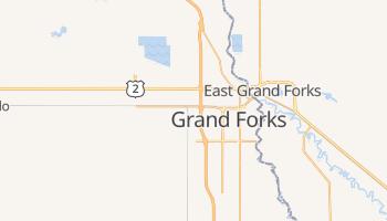 Grand Forks, North Dakota map