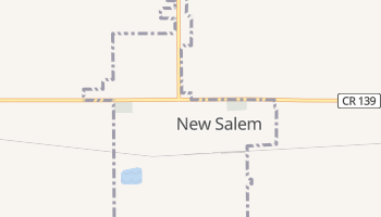 New Salem, North Dakota map