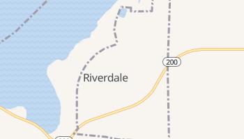 Riverdale, North Dakota map