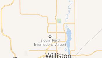 Williston, North Dakota map