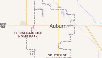 Auburn, Nebraska map
