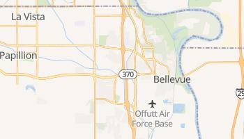 Bellevue, Nebraska map
