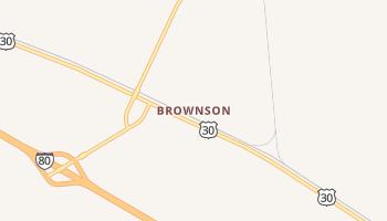 Brownson, Nebraska map