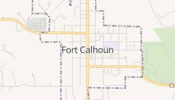 Fort Calhoun, Nebraska map