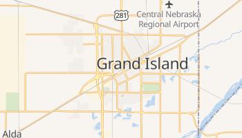 Grand Island, Nebraska map