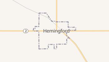 Hemingford, Nebraska map