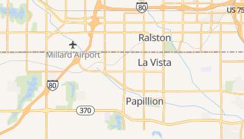 La Vista, Nebraska map