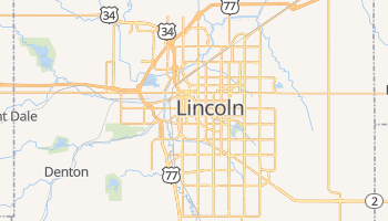 Lincoln, Nebraska map