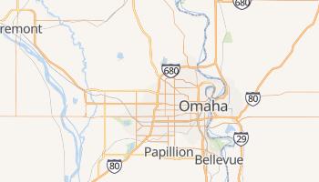 Omaha, Nebraska map