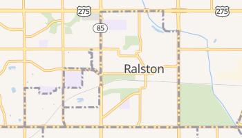 Ralston, Nebraska map