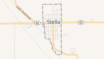 Stella, Nebraska map