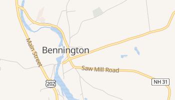 Bennington, New Hampshire map