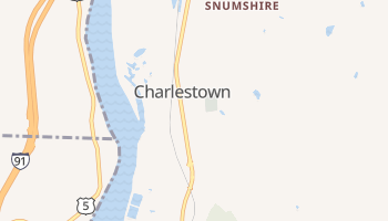 Charlestown, New Hampshire map