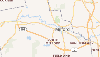 Milford, New Hampshire map