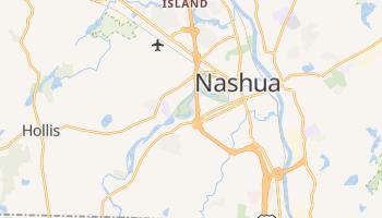 Nashua, New Hampshire map