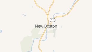 New Boston, New Hampshire map