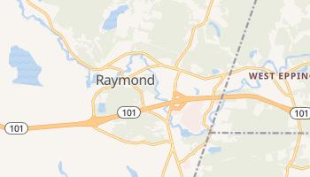 Raymond, New Hampshire map