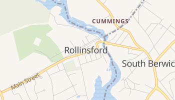 Rollinsford, New Hampshire map