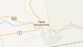 Twin Mountain, New Hampshire map