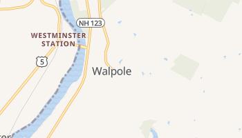 Walpole, New Hampshire map