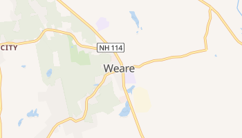 Weare, New Hampshire map