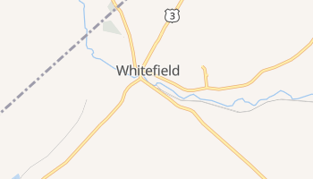 Whitefield, New Hampshire map