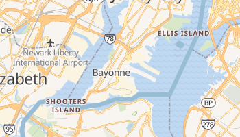 Bayonne, New Jersey map