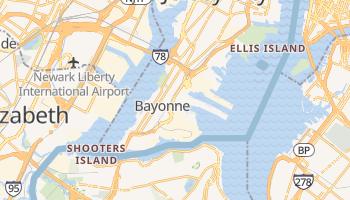 Bayonne, New Jersey map