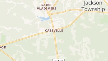 Cassville, New Jersey map