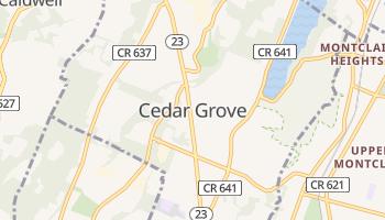 Cedar Grove, New Jersey map