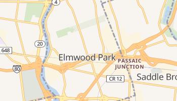 Elmwood Park, New Jersey map