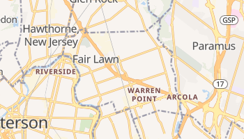 Fair Lawn, New Jersey map