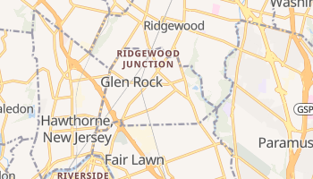 Glen Rock, New Jersey map