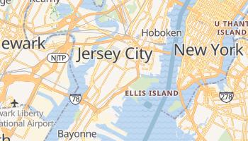 Jersey City, New Jersey map