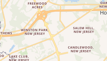 Land of Pines, New Jersey map
