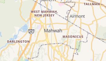 Mahwah, New Jersey map