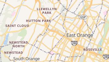 Orange, New Jersey map
